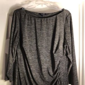 Gray Chaps dress, like new condition